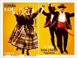 BAILES Y DANZAS - AÑO 2009 - Nº EDIFIL 4508 - 1931-Hoy: 2ª República - ... Juan Carlos I