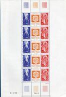 "Andorra French, Charles De Gaulle Commem ""mini"" Sheet MNH 2009.1106 Wrinkles In Left Border - De Gaulle (General)"