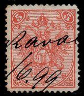 "BOSNIA-AUSTRIA, ""COAT OF ARMS"" 3rd PLATE 5 Kr LUKAVAC MANUSCRIPT 1899 RARE!!!!!!!!!!! - Bosnia And Herzegovina"