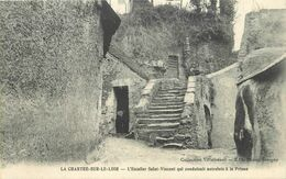 LA CHARTRE SUR LE LOIR -  L'escalier Saint Vincent Qui Conduisait Autrefois En Prison. - Other Municipalities