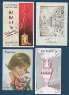 Lot De 4 Cartes Parfumées - Parfumkaarten
