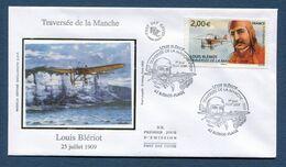 France - FDC - Premier Jour - Poste Aérienne - YT PA N° 72 - Traversée De La Manche - 2009 - 2000-2009