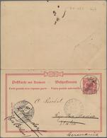 Deutsche Kolonien - Samoa - Ganzsachen: 1901, Bedarfs- Und Portogerecht Verwendete Ganzsachenpostkar - Colonie: Samoa