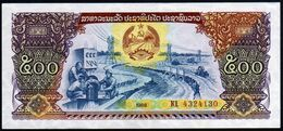 Laos 1988  500 Kips  UNC - Laos