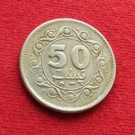 Pakistan 50 Paisa 1979 KM# 38  Paquistao - Pakistan