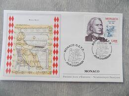 FDC Monaco 2011 : Franz Liszt (1811-1886) - FDC