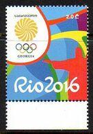 Géorgia Géorgie 516 JO De Rio Brasil - Summer 2016: Rio De Janeiro