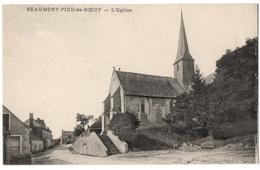CPA 53 - BEAUMONT PIED DE BOEUF (Mayenne) - L'Eglise - Frankreich