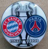 Pin Champions League UEFA 2019-2020 Final Bayern Munich Vs Paris Saint-Germain - Calcio