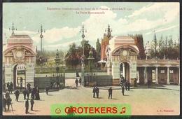 ROUBAIX Exposition Internationale De Nord De France 1911 La Porte Monumentale CANCELLATION ! - Roubaix