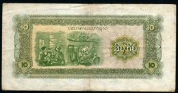 Laos 1979 10 Kips  VF - Laos