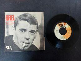 JACQUES BREL LE PLAT PAYS EP 1973 VARIANTE - 45 Rpm - Maxi-Single