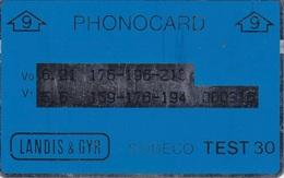 000316 Test 9 Stu. - Pays-Bas