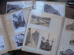 LIEGE CARTES POSTALES-CARTES PHOTOS-REPROS En 3 ALBUMS (2 KILOS 900) - 100 - 499 Postales