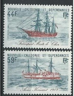 "Nle-Caledonie YT 459 & 460 "" Bateaux "" 1982 Neuf** - Neufs"