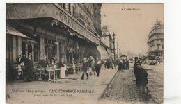 CPA - 13 - Marseille - Café Du Commerce - The Canebière, City Centre