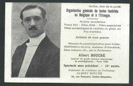 +++ CPA - IXELLES - ELSENE - Artiste - Prestidigitateur Albert BOUCHE - Spectacle - Rue Francart  // - Ixelles - Elsene