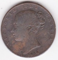 Grande-Bretagne. 1 Farthing 1839. Victoria - 1816-1901 : Coniature XIX° S.