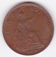 Grande-Bretagne. 1 Farthing 1929. George V - 1902-1971 : Monete Post-Vittoriane