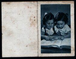 Calendrier Poche 1943 Photo Enfants Propagande Années 40 Occupation Pétain Rare Bon état Voir Explic - Petit Format : 1941-60