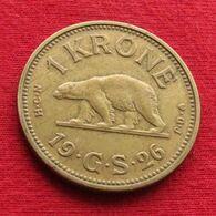 Greenland 1 Krone 1926 Bear #2 - Groenlandia