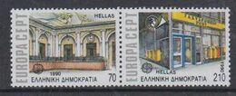 Europa Cept 1990 Greece 2v ** Mnh (49930M) ROCK BOTTOM - 1990