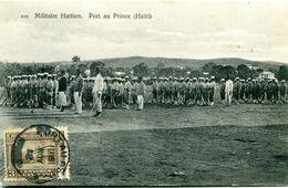 Armée Militaires Soldats Haiti Port Au Prince PORT GRATUIT Haitienne - Haiti