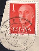 ESPAÑA SELLO CON MATASELLO TIMBRE - 1931-Aujourd'hui: II. République - ....Juan Carlos I
