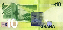 GHANA P. 39g 10 C 2017 UNC - Ghana