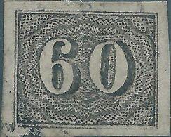Brasil - Brasile - Brazil, 1850 Value Stamps,60R Black,Used - Brasilien