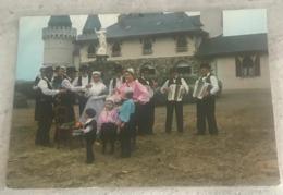 85 1987  Noce Costumes Sud Vendée Mariée Accordeon Banjo Chateau Marie  Enfants - Nozze