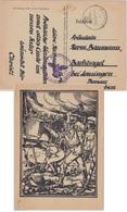DR - Fp.Nr. 12302 (2.Kp. MG-Btl. 4) Feldpostkarte N. Lauingen 11.12.42 Finnland! - Briefe U. Dokumente