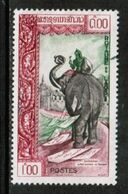 LAOS  Scott # 79 VF USED (Stamp Scan # 731) - Laos