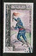 LAOS  Scott # 80 VF USED (Stamp Scan # 731) - Laos