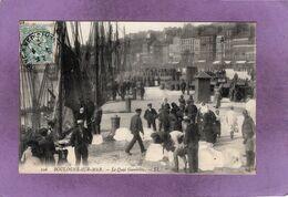 62 BOULOGNE SUR MER  Bateau  Le Quai Gambetta  LL. N° 106 - Boulogne Sur Mer