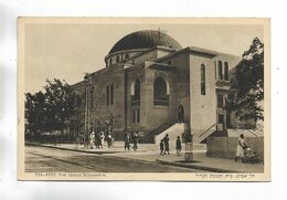 PALESTINE - TEL-AVIV - The Great Synagogue. Carte Aanimée - Palestine