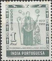 PORTUGUESE INDIA 1951 300th Birth Anniversary Of Jose Vaz - 1r Father Jose Vaz MNH - Inde Portugaise