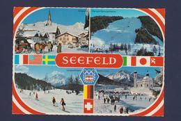 Austria Postcard 1976 Innsbruck Olympic Games - Seefeld Mint (G109-52) - Winter 1976: Innsbruck
