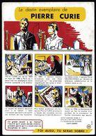 Buvard Prévention Alcoolisme Santé Sobriété N°7 Voir Série 10 Années 1960 Pierre Curie Médecine Science V. Explications - Collections, Lots & Séries