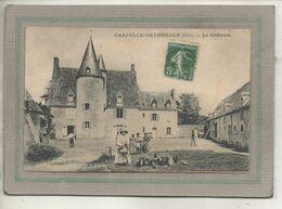 CPA - (36) CHAPELLE-ORTHEMALE - Aspect De La Basse-Cour De La Ferme Du Château En 1915 - Other Municipalities