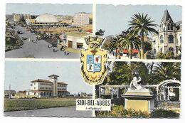Cpsm: ALGERIE - SIDI BEL ABBES - Multivues (Blason)  Ed. CIM  N° 1 C  (rare) - Sidi-bel-Abbès