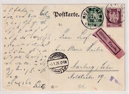 DR.,Eilbote-Karte Mit Mi.F, Mi.-Nr 356 + 360 - Unclassified