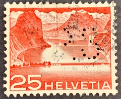 1949. 25 CTS MELIDE PERFIN - Trous Mal Perforés - Gezähnt (perforiert)