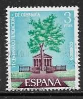Yvert 1379 - 3 P Bleu, Vert Et Violet. Arbre-souvenir - O - 1931-Aujourd'hui: II. République - ....Juan Carlos I