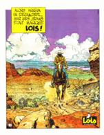 """PUB JEANS """" LOIS  """" Par """" MOEBIUS """" """" GIR """" (Jean Giraud) 1977 - Publicités"""