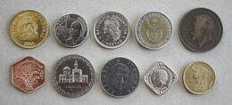 10 Monnaies Différentes - Lot N°4 - Mezclas - Monedas