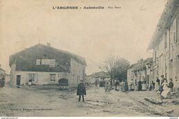 55) AUBREVILLE : Rue Basse (1913) (AW) - Other Municipalities