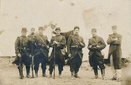 Carte-Photo : Portrait Militaire - 28 Régt Infanterie Par Gallien à Mourmelon (1909) (BP) - Guerra, Militares