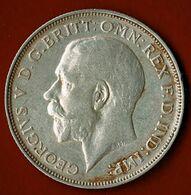 GRANDE BRETAGNE / GEORGES V / ONE FLORIN / 1912/ ETAT SUP - 1902-1971 : Monete Post-Vittoriane