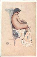 G. LEONNEC  Intimité Du Boudoir N°8  ( Nu érotique ) - Illustratori & Fotografie
